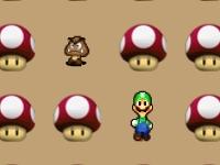 Флеш игра Марио и грибы: Найди пару