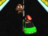Флеш игра Марио на автобане 2