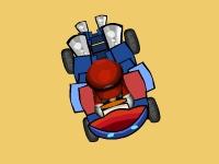 Флеш игра Марио на багги