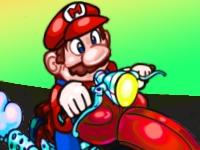 Флеш игра Марио на байке: Ремикс