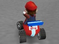 Флеш игра Марио на карте