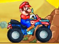 Флеш игра Марио на квадроцикле: Ремикс