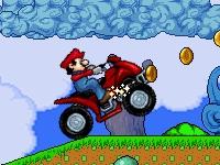 Флеш игра Марио на квадроцикле