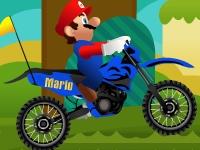 Флеш игра Марио на мотоцикле 2
