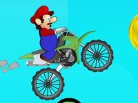 Флеш игра Марио на мотоцикле 3