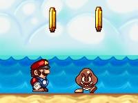 Флеш игра Марио на пляже: Ремикс