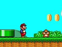 Флеш игра Марио навсегда