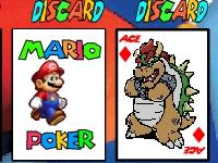 Флеш игра Марио покер