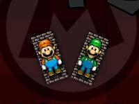 Флеш игра Марио против Луиджи: Пинг Понг