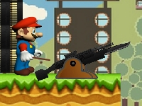 Флеш игра Марио против Обамы