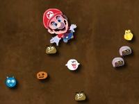 Флеш игра Марио пугает врагов