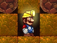 Флеш игра Марио шахтер
