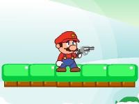 Флеш игра Марио со снежной пушкой
