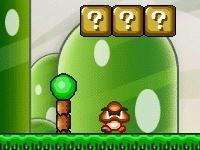 Флеш игра Марио собирает монетки