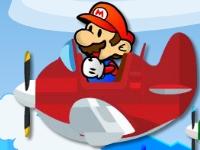 Флеш игра Марио спасает друзей на самолетах
