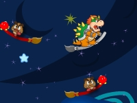 Флеш игра Марио стреляет грибами