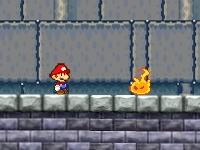 Флеш игра Марио в башне с монетами