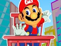 Флеш игра Марио в тележке