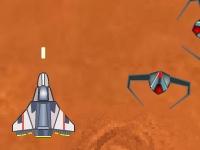 Флеш игра Марсианский истребитель