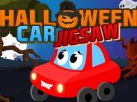 Флеш игра Машинка на Хэллоуин: Пазл