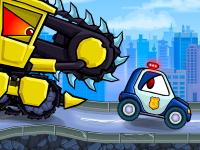 Флеш игра Машины поедающие машины: Злые машины