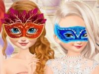 Флеш игра Маскарадная вечеринка для принцесс