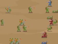 Флеш игра Массовая война 3