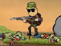 Флеш игра Массовое кровавое уничтожение зомби (дополнение)