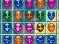 Флеш игра Математические шарики: Сложение и вычитание