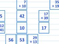 Флеш игра Математический маджонг