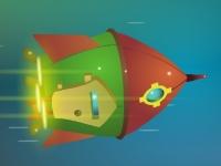 Флеш игра Майнкрафт: Аварийная посадка
