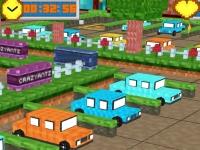 Флеш игра Майнкрафт: Мега парковка