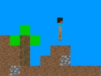 Флеш игра Майнкрафт: Мир из блоков
