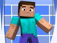 Флеш игра Майнкрафт: Помой Стива