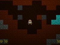 Флеш игра Майнкрафт: Потерявшийся в подземелье