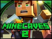 Флеш игра Майнкрафт: Сокровища в пещере 2