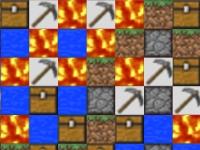 Флеш игра Майнкрафт: Три в ряд