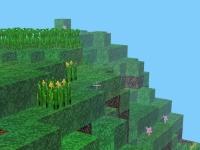 Флеш игра Майнкрафт блоки