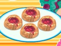 Флеш игра Меделин Хеттер готовит печенье к чаю