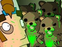 Флеш игра Медведи-зомби