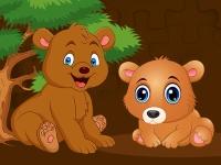 Флеш игра Медвежонок: Пазл