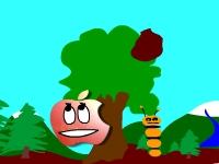 Флеш игра Месть красного яблока