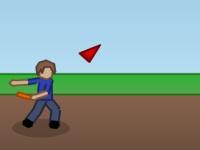 Флеш игра Метание летающей тарелки