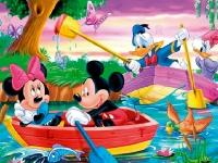 Флеш игра Микки Маус: Поиск букв