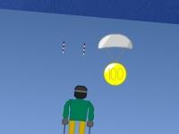 Флеш игра Микро лыжи 3D