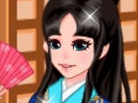 Флеш игра Милашка в кимоно