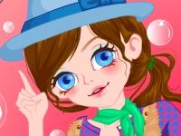 Флеш игра Милая девушка-ковбой