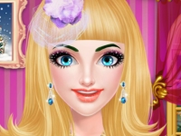Флеш игра Милая принцесса в салоне красоты
