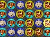 Флеш игра Милые щеночки в ряд