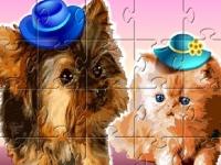 Флеш игра Милые животные: Пазл